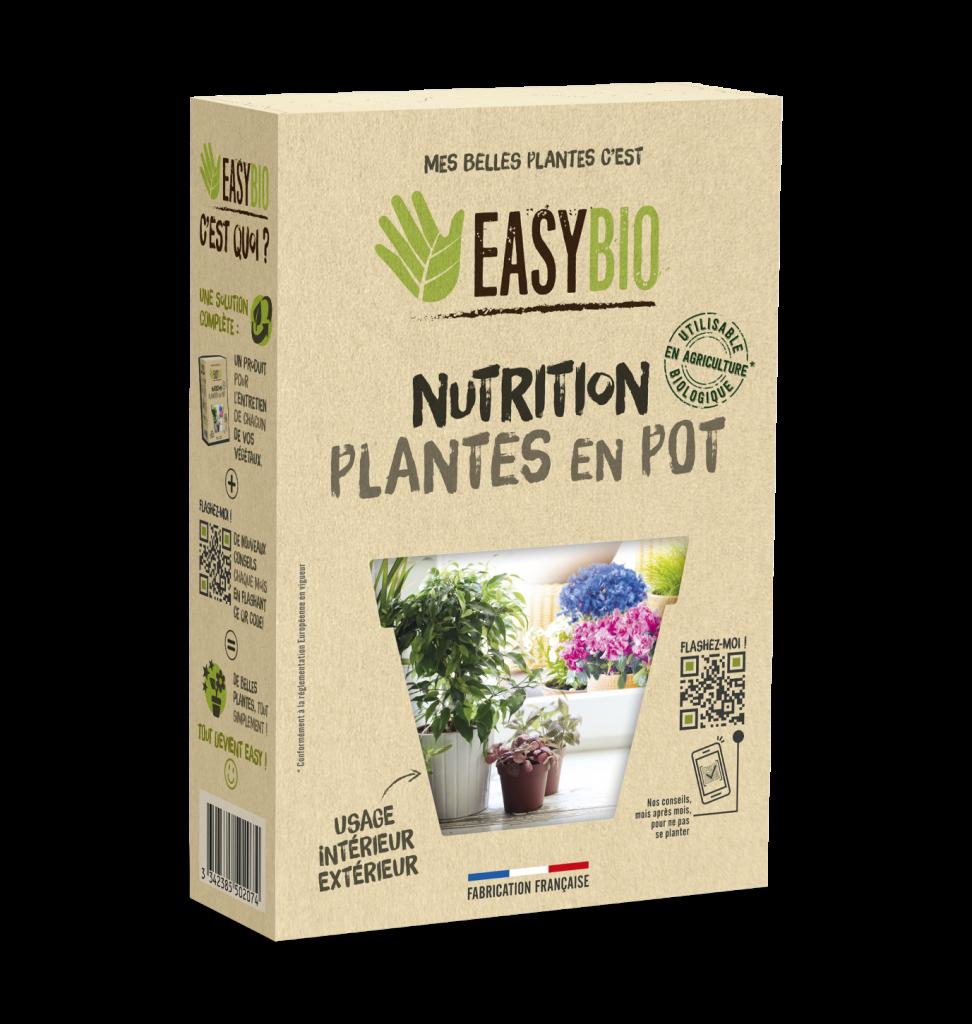Nutrition plantes en pot